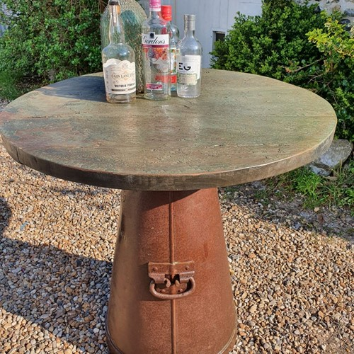 Large Milk Churn Table