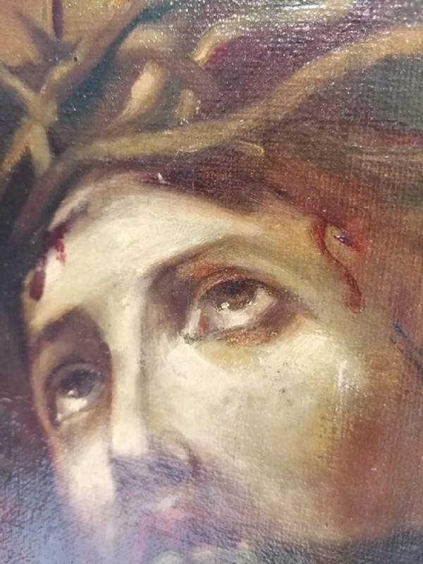 Outstanding Oil On Canvas Christ Hand Signed 1830-ridding-wynn-d3847de2-f937-498b-acb6-be362c5079ae-main-637215331554314470.jpg