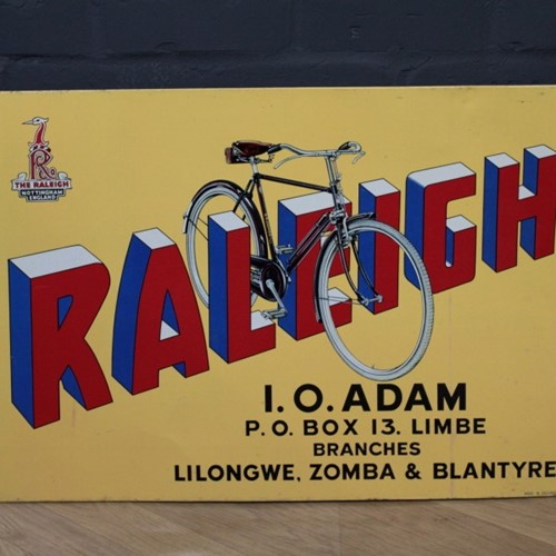 Raleigh Advertisement Signage