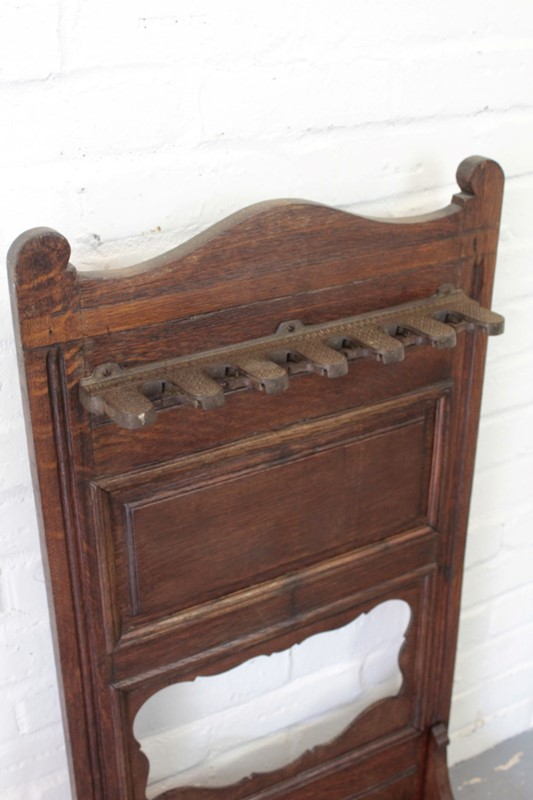 Arts and Crafts Oak Stick Stand-robinscroft-interiors-t121-main-637344914398500039.JPG