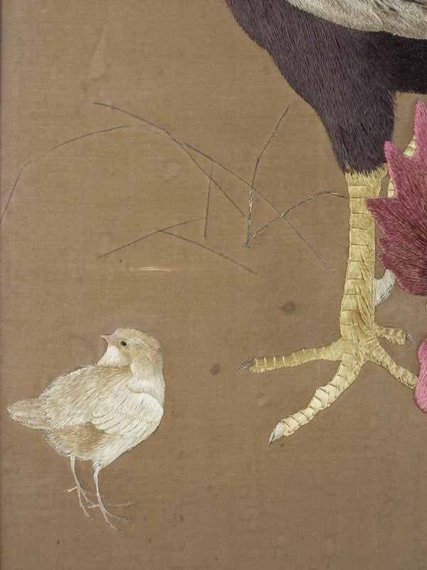 Exceptional Framed Meiji Embroidery-roche-coward-antiques-japanese-meiji-embroidery-chickens-00000-main-637267722609073739.jpg