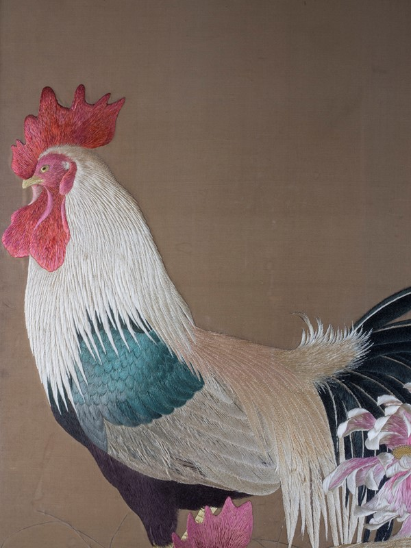 Exceptional Framed Meiji Embroidery-roche-coward-antiques-japanese-meiji-embroidery-chickens-00009-main-637267722948654382.jpg