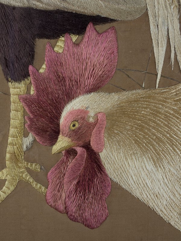 Exceptional Framed Meiji Embroidery-roche-coward-antiques-japanese-meiji-embroidery-chickens-00015-main-637267722999905621.jpg