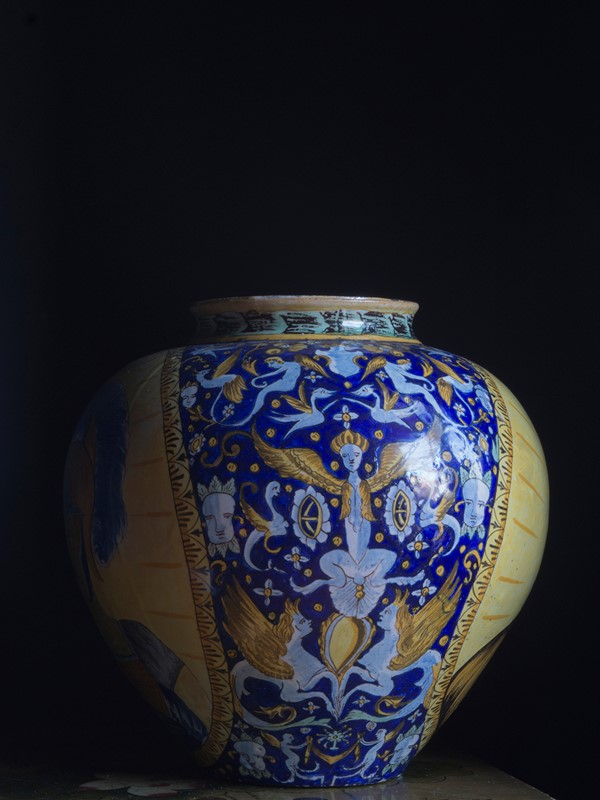 Large Italian Maiolica Vase 19th Century-roche-coward-antiques-maiolica-portrait-vase-19th-century-00002-main-637109049428087872.jpg