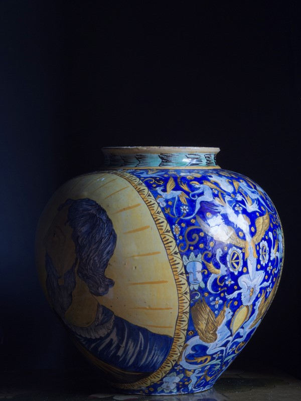 Large Italian Maiolica Vase 19th Century-roche-coward-antiques-maiolica-portrait-vase-19th-century-00005-main-637109049453557315.jpg