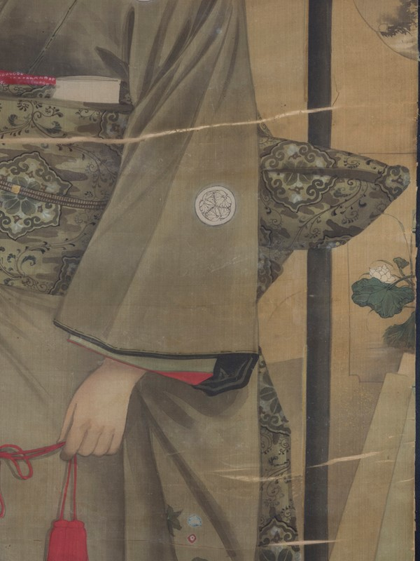 19th Century Full length Japanese Portrait on Silk-roche-coward-antiques-meiji-japanese-full-length-silk-portrait-00001-main-637209913061441966.jpg