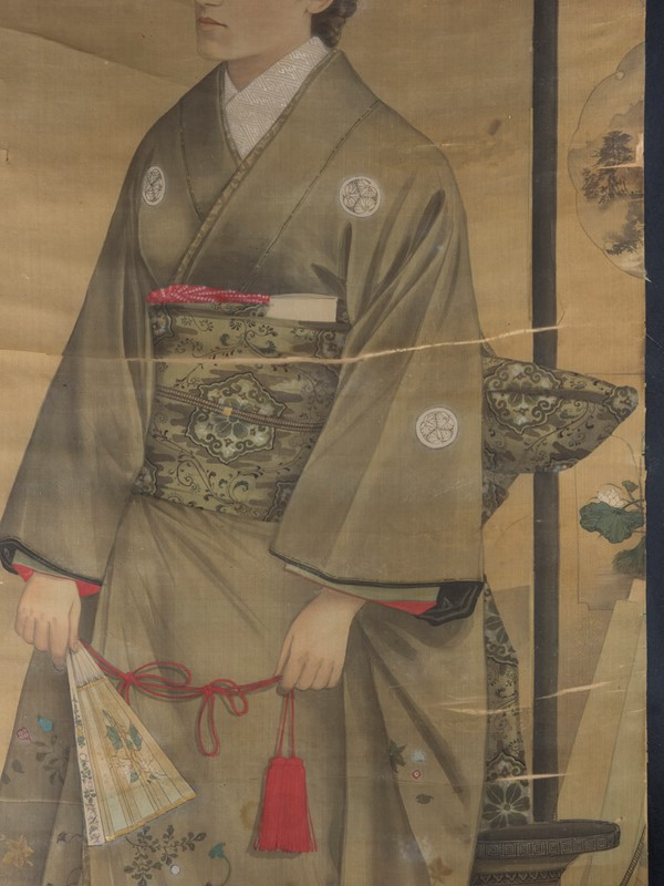 19th Century Full length Japanese Portrait on Silk-roche-coward-antiques-meiji-japanese-full-length-silk-portrait-00003-main-637209913079410575.jpg