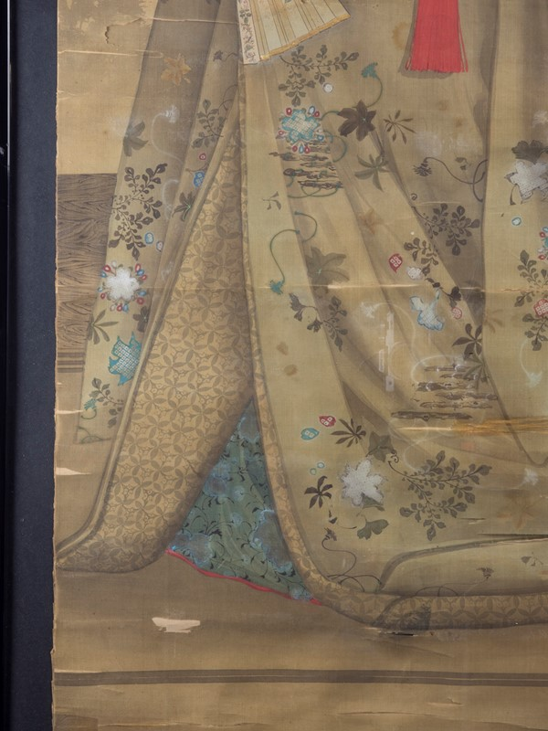 19th Century Full length Japanese Portrait on Silk-roche-coward-antiques-meiji-japanese-full-length-silk-portrait-00007-main-637209913115191953.jpg