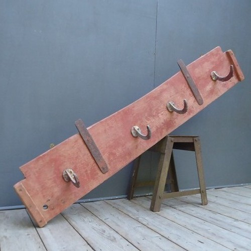 Rustic Coat Hooks In Original Paint