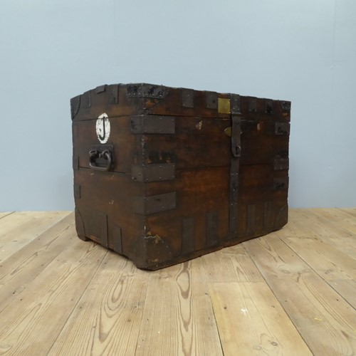 Early 19th Century Oak Silver Chest