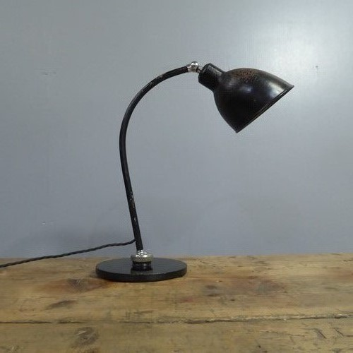 Desk Lamp by Christian Dell for Bunte & Remmler
