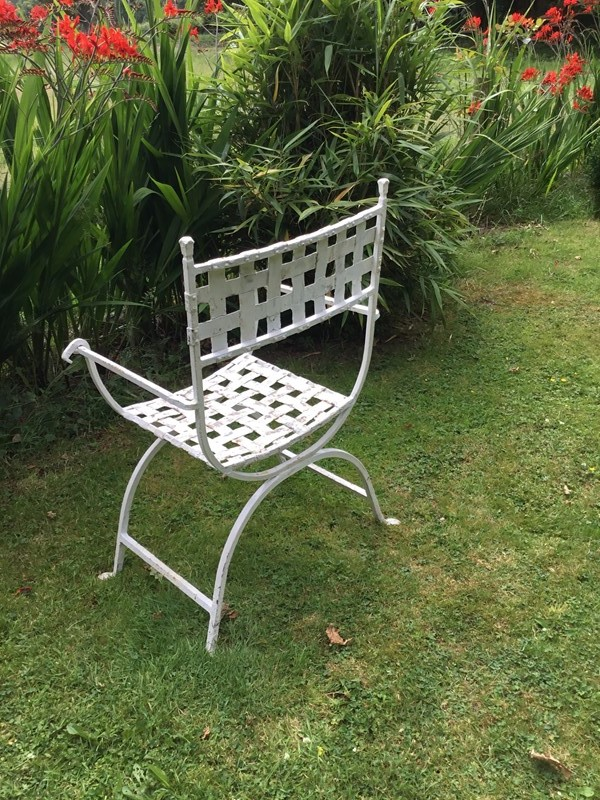 Antique wrought iron chair and matching stool 1930-russell-wood-53c53f8b-fae7-4a93-a755-b5e6692b3dca-main-636986281143525923.jpeg