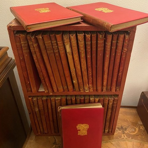 18th Century cased leather 40 Shakespeare works