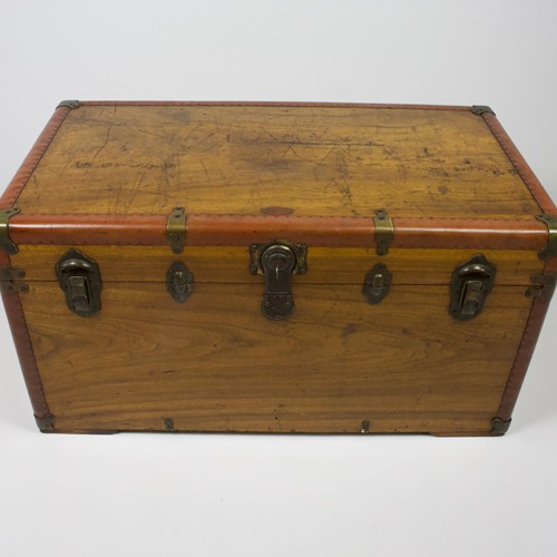 Camphor Wood Traveling Trunk