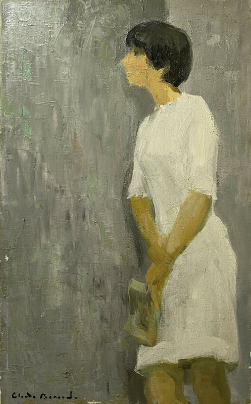 mid 20th century french oil - girl with book-stag-gallery-ty-main-637424368279371872.jpg