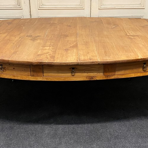 Huge French Oval Farmhouse Table