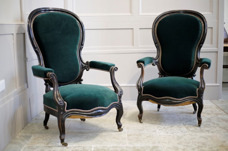 Pair of Napoleon III Balloon backed armchairs-talboy-interiors-acd3391b-7aad-49ac-9a33-6482ed4dc42f-1-105-c-main-637407882198343567.jpeg