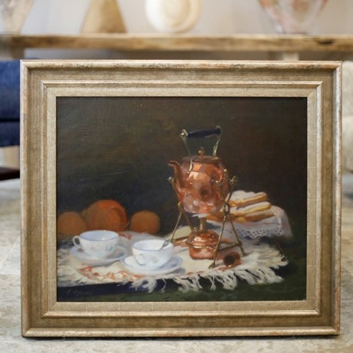 Jules Ernest Renoux Still Life oil on canvas