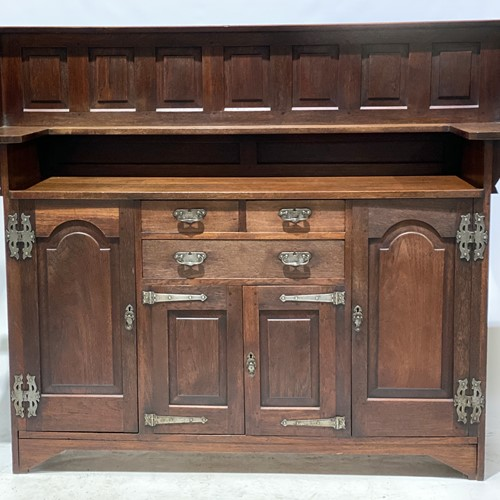 Arts and Crafts Sideboard in Walnut, Circa 1905