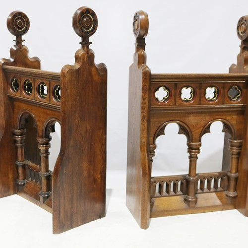 Pair of 19th Century Meet & Greet Stands
