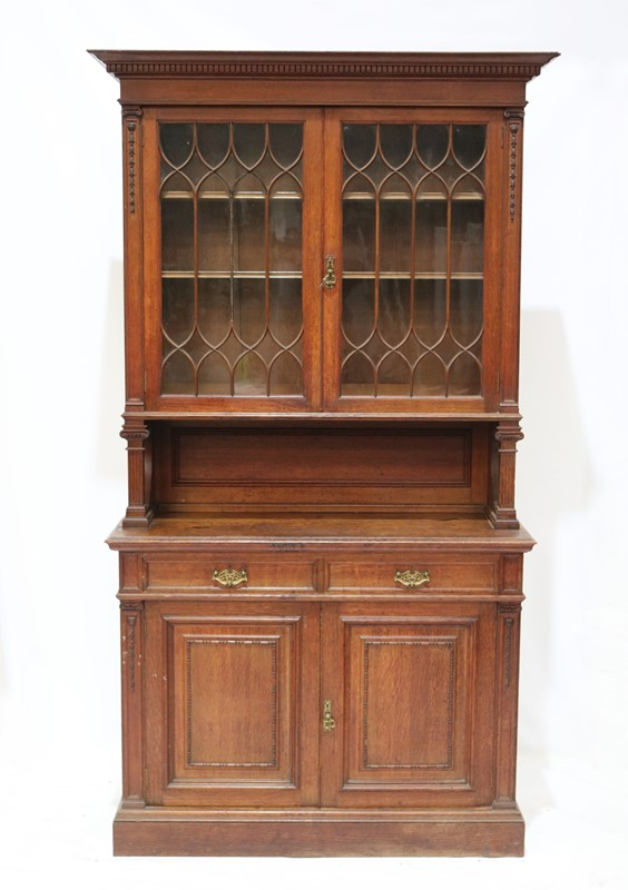 Late 19th Century Solid Oak Two-door Bookcase-taylor-s-classics-cab-03830-13-main-637499292600737439.jpg