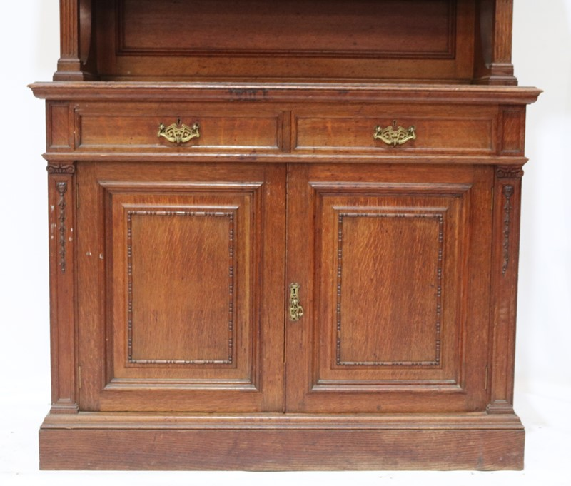 Late 19th Century Solid Oak Two-door Bookcase-taylor-s-classics-cab-03830-14-main-637499292652612828.jpg