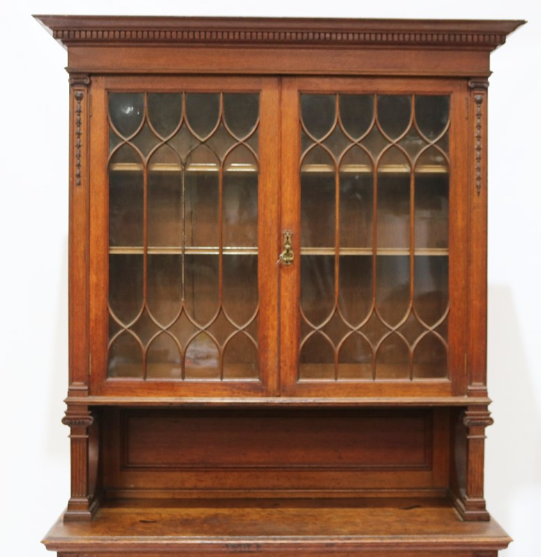 Late 19th Century Solid Oak Two-door Bookcase-taylor-s-classics-cab-03830-15-main-637499292698550014.jpg