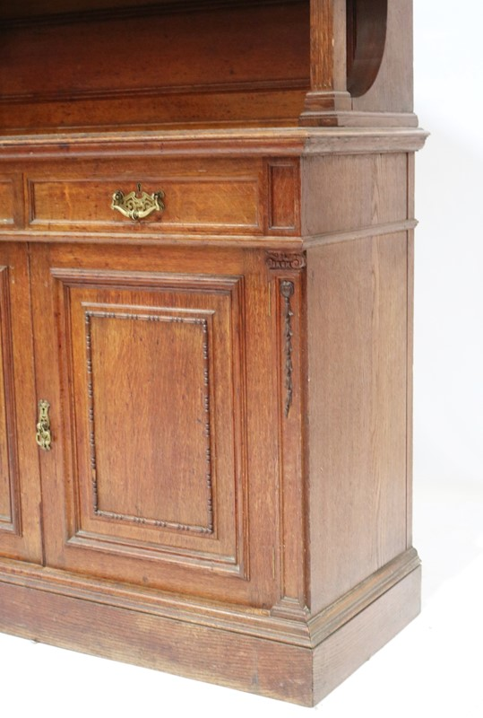 Late 19th Century Solid Oak Two-door Bookcase-taylor-s-classics-cab-03830-5-main-637499292376516860.jpg