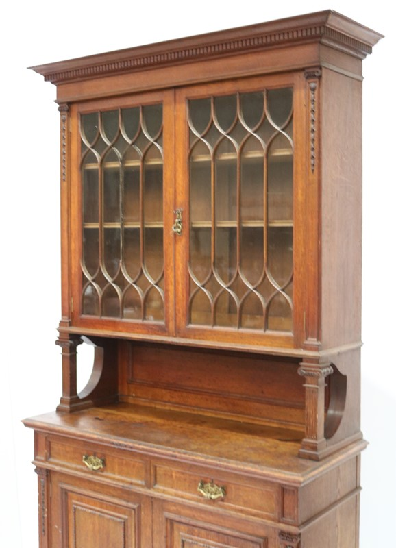 Late 19th Century Solid Oak Two-door Bookcase-taylor-s-classics-cab-03830-7-main-637499292478861711.jpg