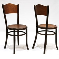 Set of 32 Early 20th Century Bentwood Chairs