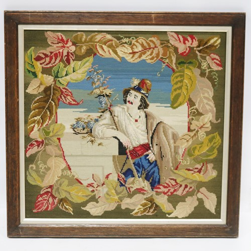 Framed Flemish Style Tapestry