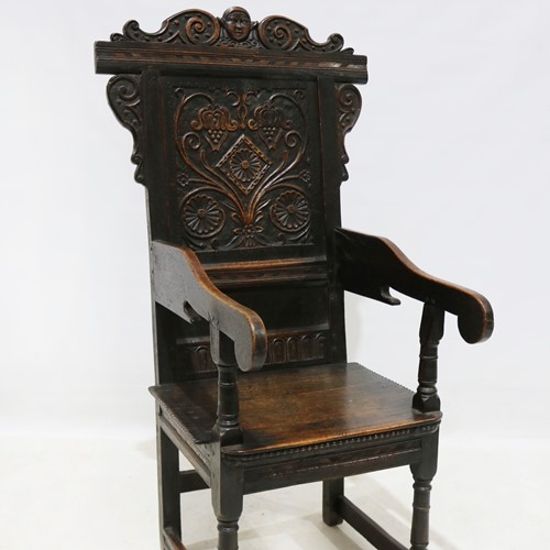 Replica of a 17th Century Wainscot Chair