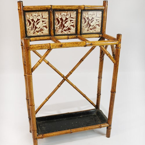 19th Century Bamboo Stick Stand