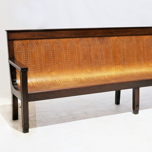 A Superb Example of a 19th Century Bench