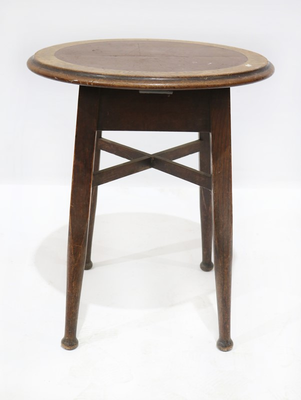 Oak Boozing Table with Brown Inset Top-taylor-s-classics-tab-04969-3-main-637068183488837136.jpg