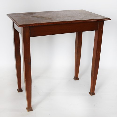 Small Oblong Drinking Table in Oak Circa 1915