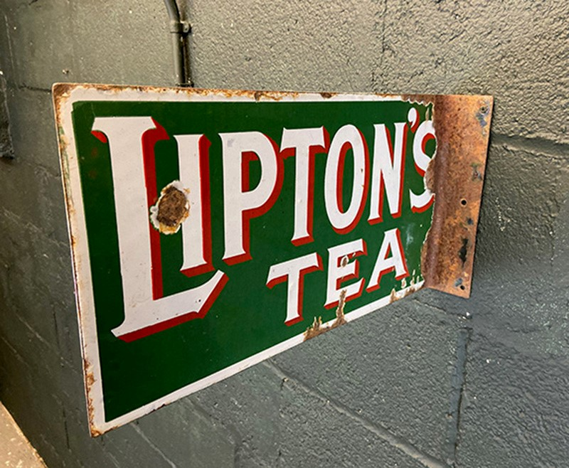 Lipton's Tea Original Enamel Two Sided Sign-the-board-residence-img-5309-main-637316438673992154.jpg