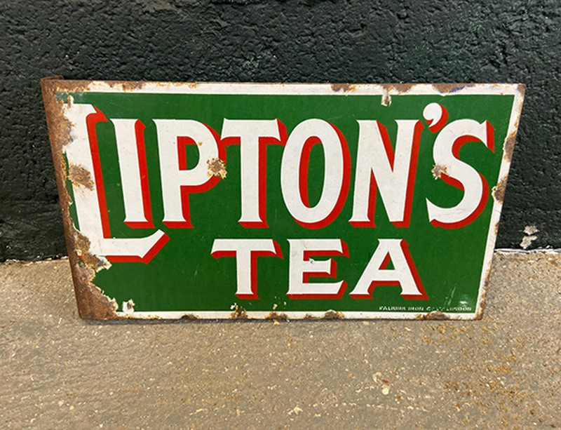 Lipton's Tea Original Enamel Two Sided Sign-the-board-residence-img-5312-main-637316439328831551.jpg
