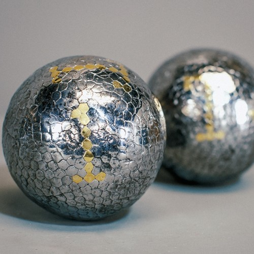 Pair of Polished Early 19th Century Boules