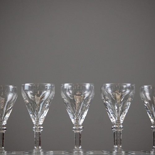 19th Century Wine Glasses