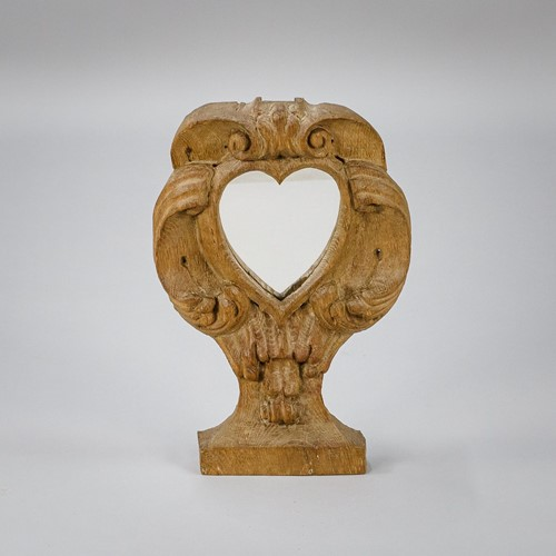 18th Century Love Heart Dressing Mirror
