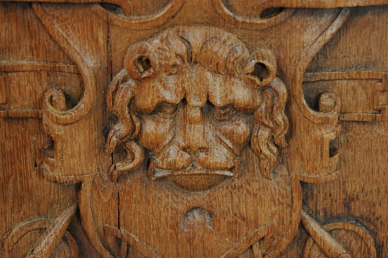 19th Century Relief Carved Lion Panel-the-home-bothy-lion-panel-2072-3-main-637314690406175650.JPG