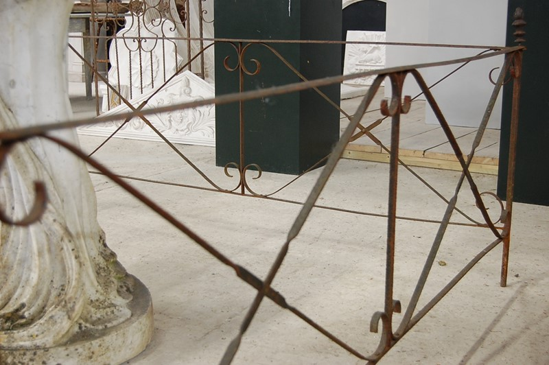 19th Century Wrought Iron Garden Statue or Folly -the-home-bothy-wrought-iron-fencing-1-main-637036335329072886.JPG