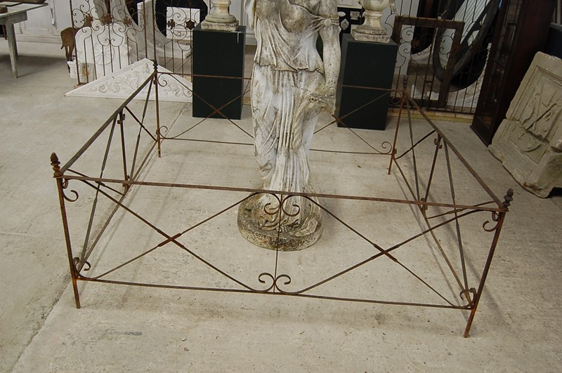 19th Century Wrought Iron Garden Statue or Folly -the-home-bothy-wrought-iron-fencing-3-main-637036335342978938.JPG