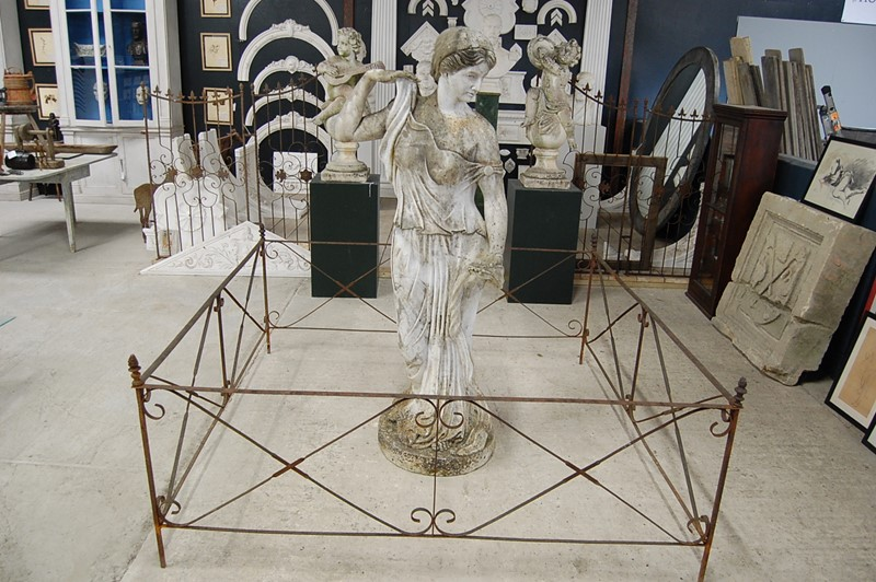19th Century Wrought Iron Garden Statue or Folly -the-home-bothy-wrought-iron-fencing-4-main-637036334407349580.JPG