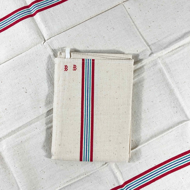 A set of 2 unused French linen kitchen towels. -the-mint-in-rye-img-6335h-main-637074616680969640.jpg