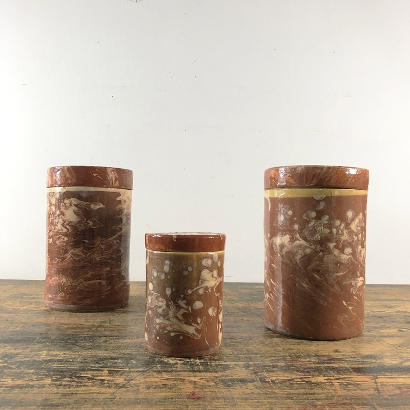 Collection of Antique Marbled Slipware Jars -the-mint-in-rye-marbled-stoneware-antique-pots-15-main-637402825640215408.jpg