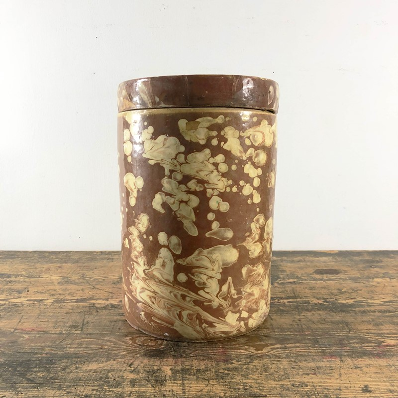 Collection of Antique Marbled Slipware Jars -the-mint-in-rye-marbled-stoneware-antique-pots-7-main-637402825145530014.jpg