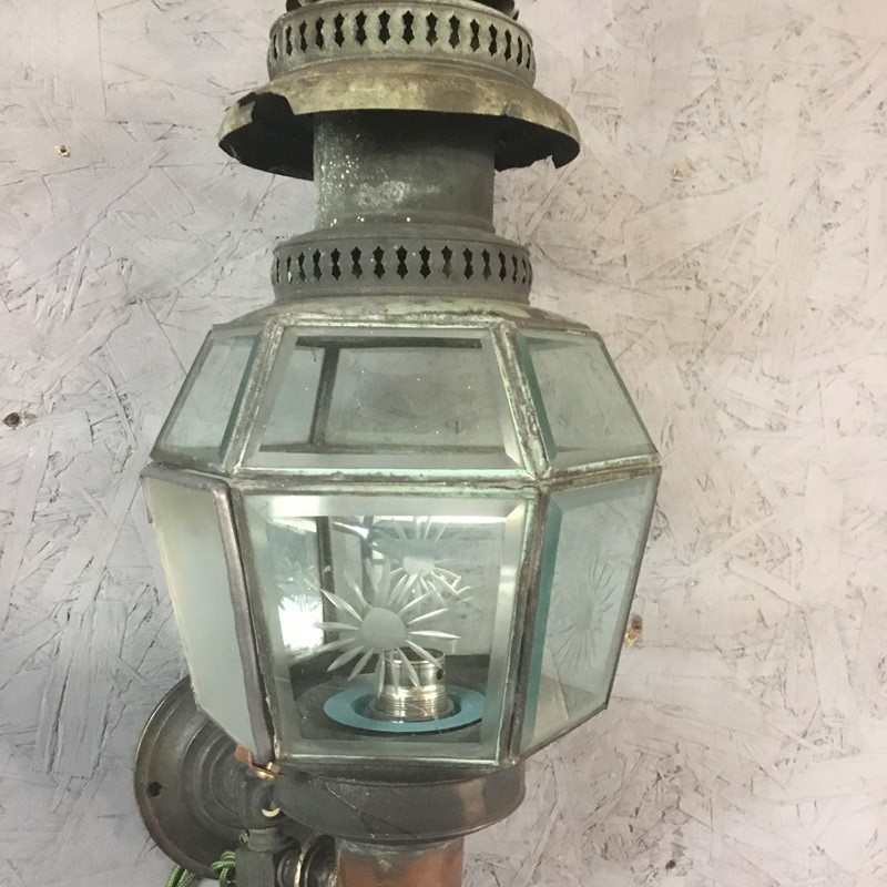 A Pr. of Vintage Copper Wall Lanterns.-the-old-yard-8f09ea7f-fb66-46a2-a281-d98c091ad333-main-637403627557383895.jpeg