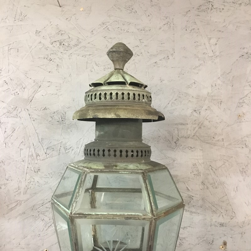 A Pr. of Vintage Copper Wall Lanterns.-the-old-yard-a122bd16-05ba-4d92-b528-0aafc4829889-main-637403627527227658.jpeg